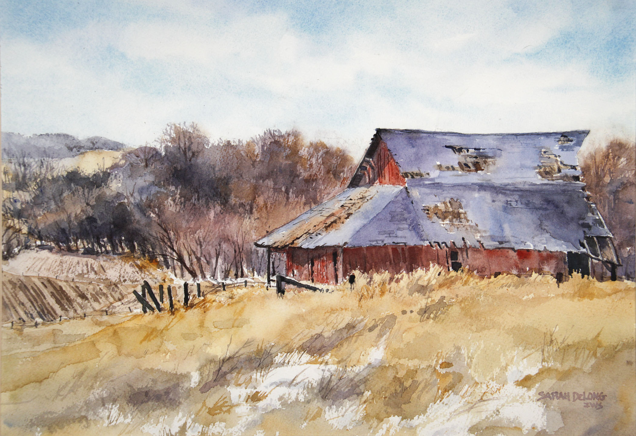Blue Roof Barn's Last Days
