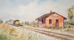 Amana Train Station
