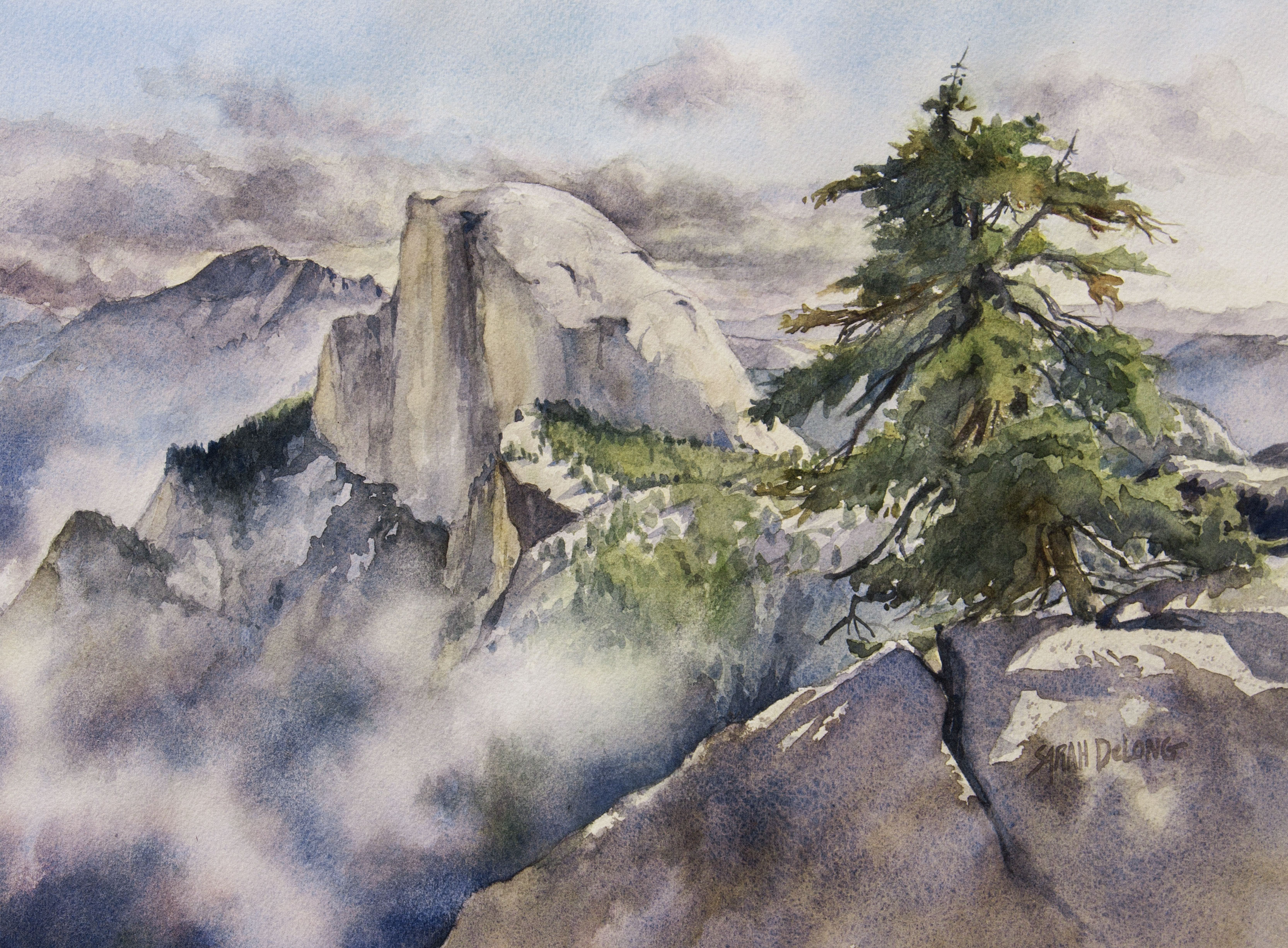 After the Storm: Half Dome