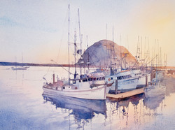 Evening in Morro Bay