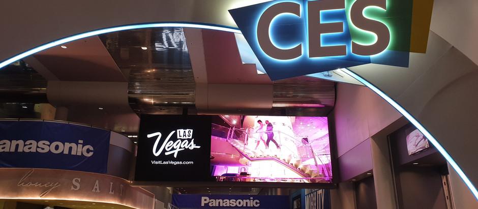 CES2020 라스베가스 삼성 가로세로 TV 터널 파노라마LED 연출