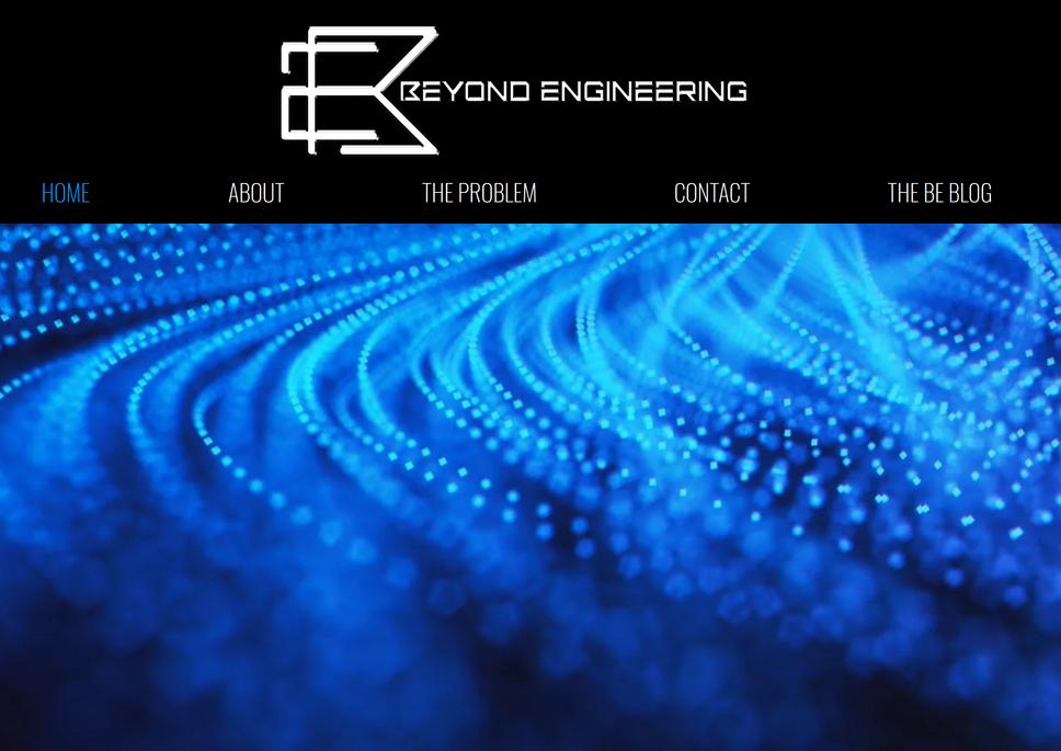 Website Created for Beyond Engineering