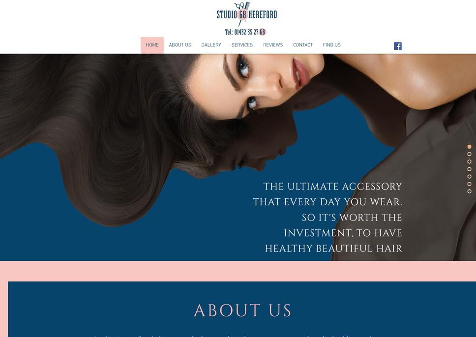 Website Created for Studio 68