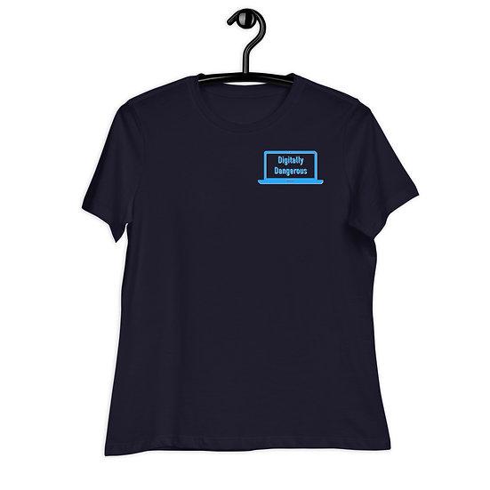 Digitally Dangerous Relaxed T-Shirt - Women's
