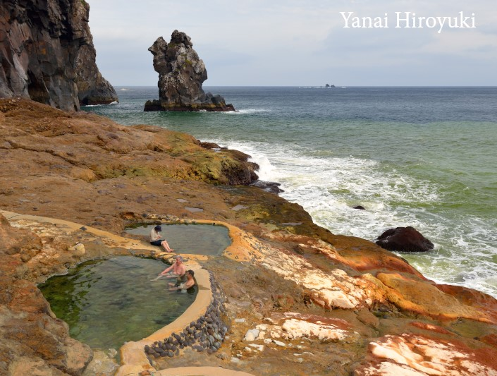 薩摩硫黄島の東温泉(鹿児島県)