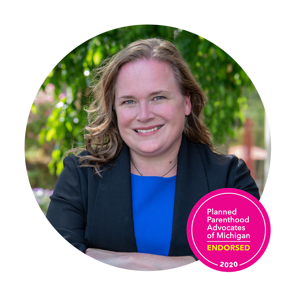 Kelly Breen, Endorsed by Planned Parenthood Advocates of Michigan