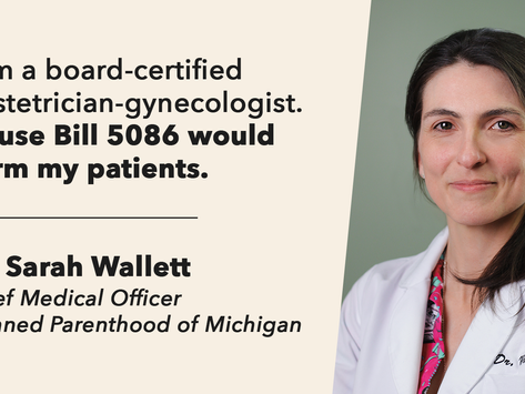 I am a board-certified obstetrician-gynecologist. HB 5086 would harm my patients.