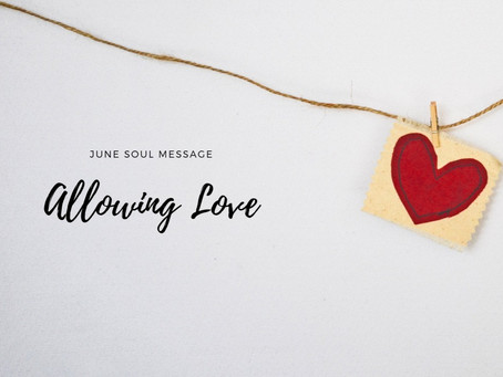 Allowing Love