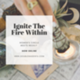 ignite the fire within ONLINE INSTA WEEK