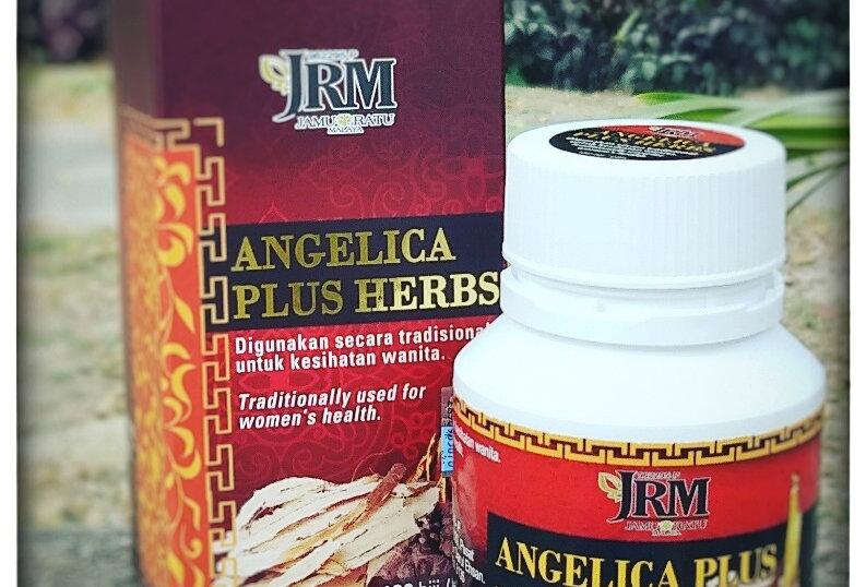 Angelica Plus Herbs (180 biji)