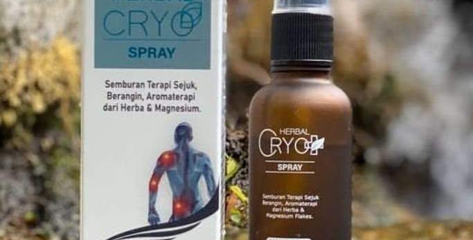 Herbal Cryo Spray