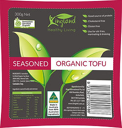 Australain Brand,Australain Made,Organic tofu,Certified Organic,Kingland Organic Seasoned firm Tofu 300,Seaseoned,Tofu,King International,Kingland,Bluelotus,Simplybetter,No 1,Best Tofu in Australia,Best Tofu,Victoria, NSW, QLD, SA, WA,Organic,Seaseoned,Vegan,Macro tofu,Organic seaseoned, Macro Seasoned,Australian Tofu,Seasoned tofu Australia