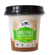 dairy free greek yogurt apple cinnamon vegan lactose free plant based cruelty free