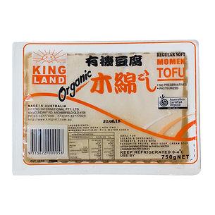 Australain Brand,Australain Made,Organic tofu,Certified Organic,Kingland Organic Momen soft Tofu 750,Momen,Tofu,King International,Kingland,Bluelotus,Simplybetter,No 1,Best Tofu in Australia,Best Tofu,Victoria, NSW, QLD, SA, WA,Organic,Silken,Vegan,Macro tofu,Organic Momen, Macro Momen,Australian Tofu.