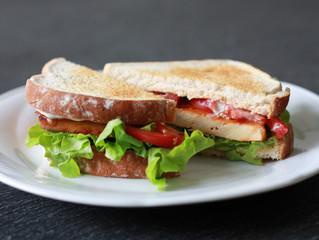 The TLT aka Tofu, Lettuce & Tomato Sandwich