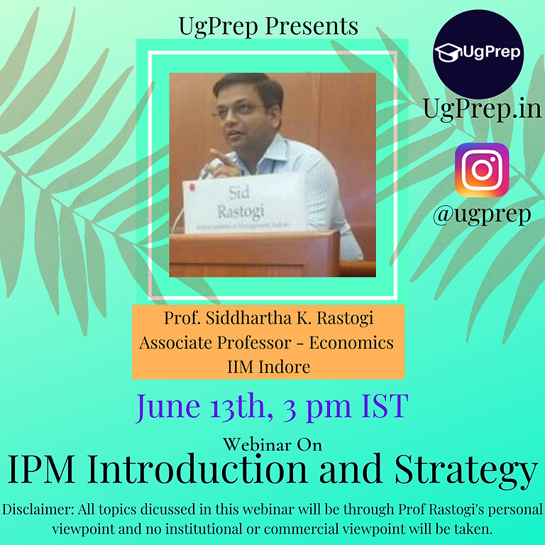 IPM Introduction and Strategy