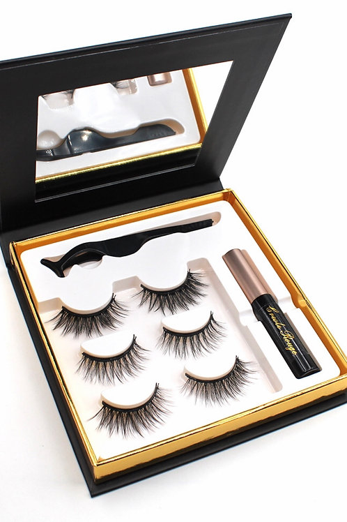 Queen  Collection Magnetic Trio Lash Kit