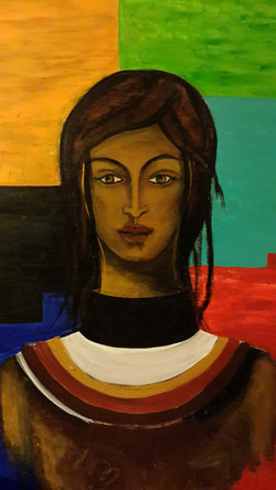 The Egyptian lady