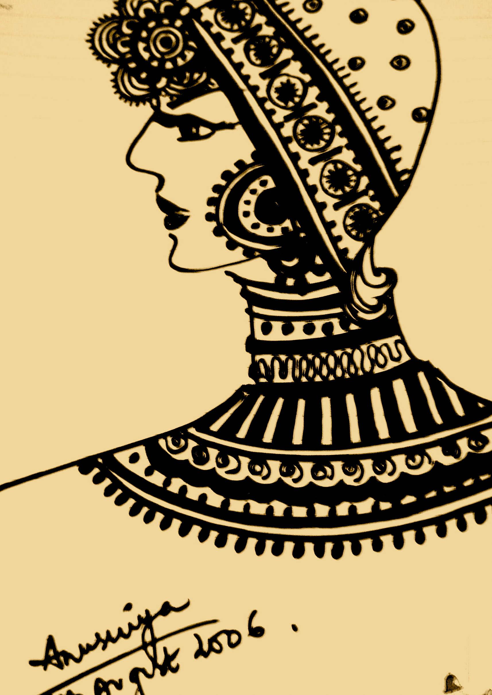 The Embellished Lady