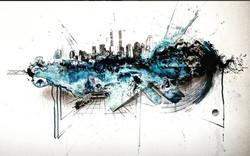 Bleu urbain