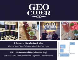geo cider