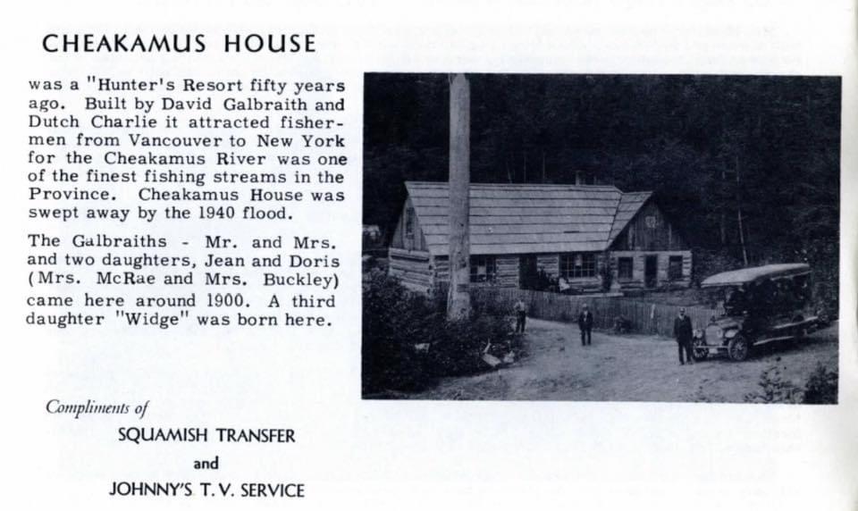 Cheakamus House