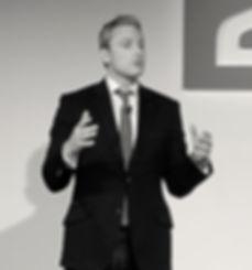 Keynote speaker Jeremy White