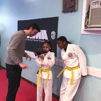 Harlem's Karate Kids BTS
