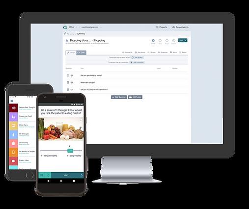 QMob offline mobile survey