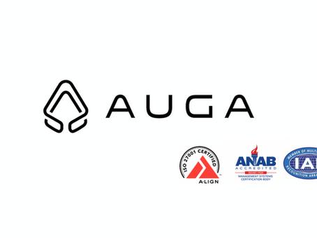 Auga got certified!!