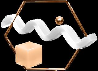 hexagon-frame-abstract-geometric-shape-p