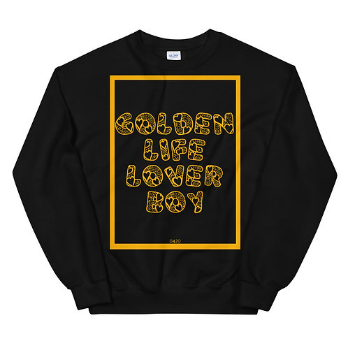 """""""Golden Life"""" Sweatshirt 0420"""