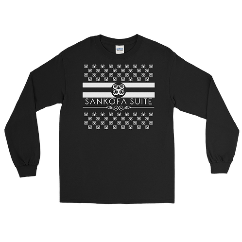 """Hearts & Stripes"" Long Sleeve Shirt"