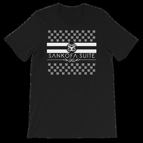 """Hearts & Stripes"" Unisex T-Shirt"