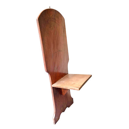 Vintage Wooden Leaning Chair