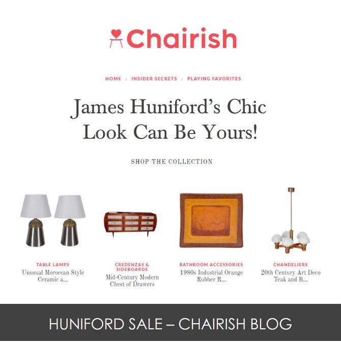 Chairish Blog - Huniford Vintage Sale