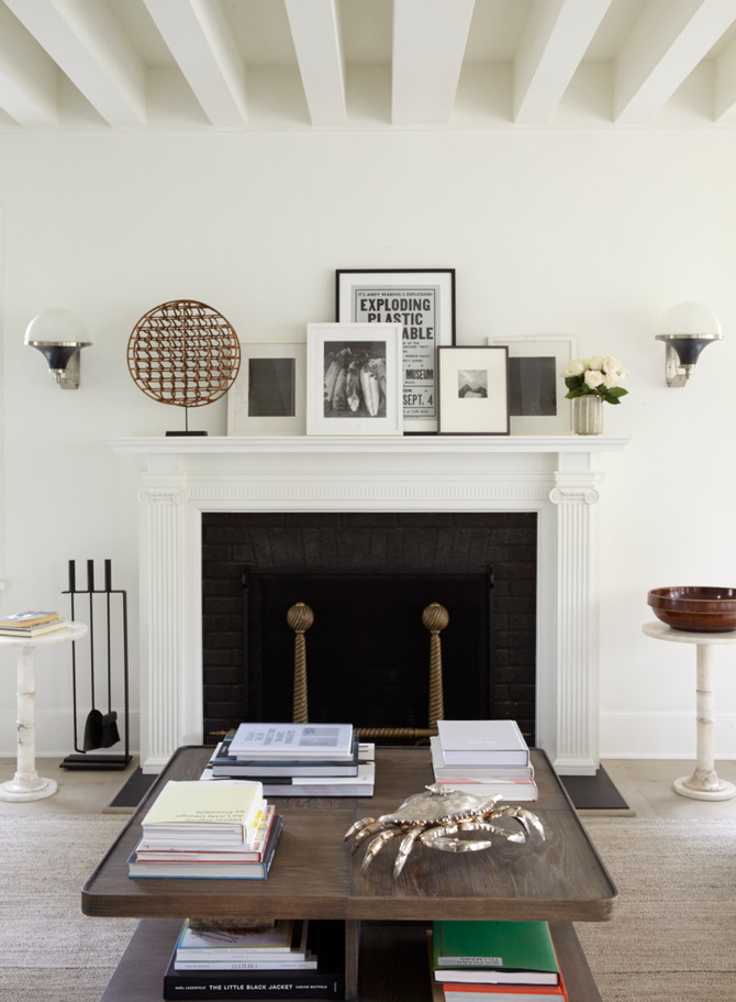 ELLE DECOR FEATURES HUNIFORD DERING HALL STORY