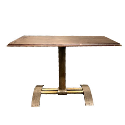 Industrial Metal Base Table