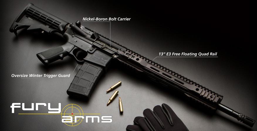 Beauty  plumcrazy black trigger rail for