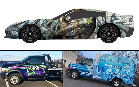 Vehicle Wrap Designs