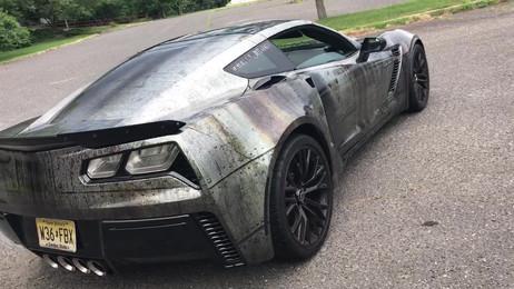 Corvette Wrap Design