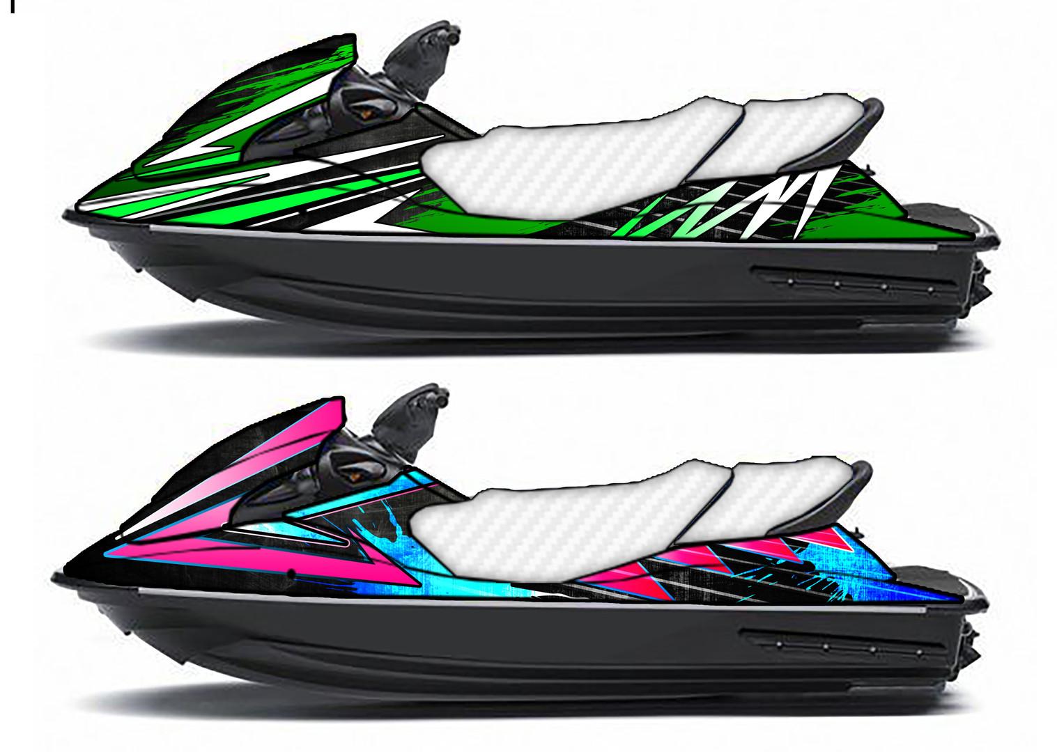 Jet Ski wrap designs