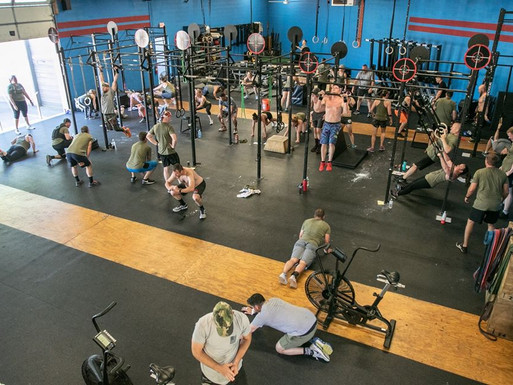 CROSSFIT 033 HELPS KEEP MEMBERS ON TRACK AND FIT...PLUS, PROCACCINI'S REBRANDS TO ORIGINAL GINO'S