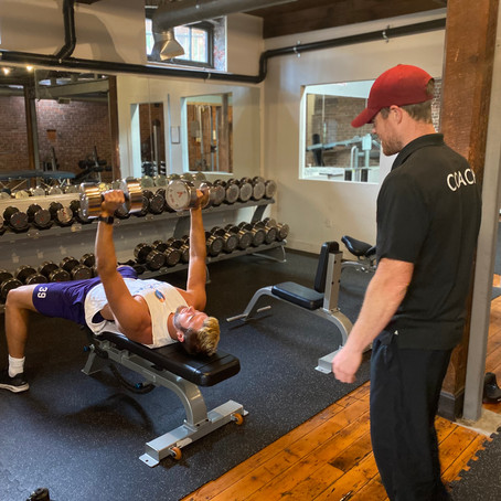 FIND BALANCE AT FAST-GROWING GYM...PLUS, NEW SALON OPENING IN DERR PLAZA