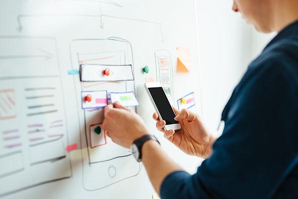 Designing application for mobile phone.j
