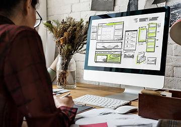 website-development-layout-sketch-drawin
