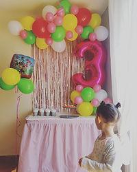 arche ballon 3 ans