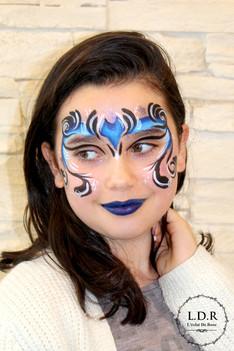 maquillage_Halloween_-_batwoman_-_l'écl