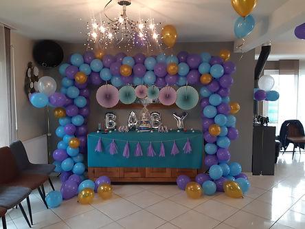 décoration ballon - baby shower -brest -