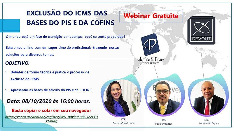 Exclusão ICMS Pis e Cofins